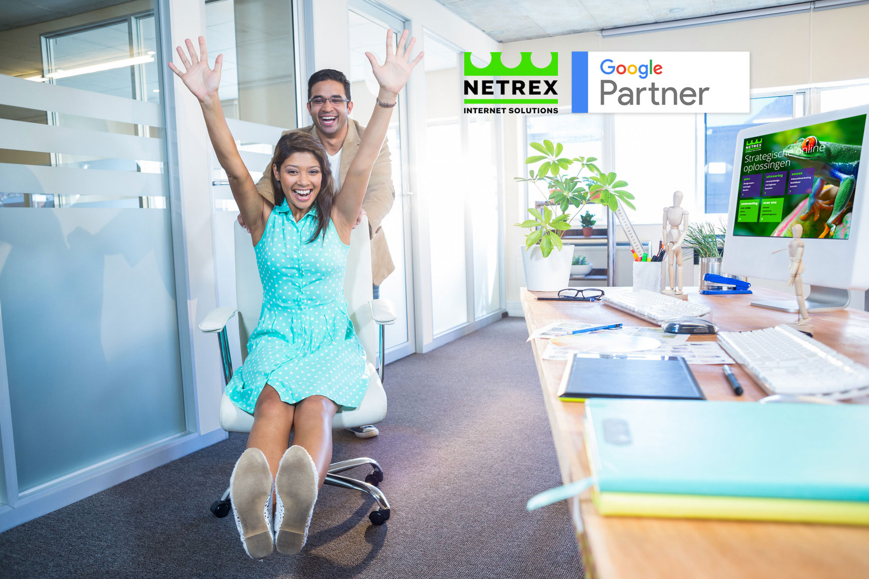 Netrex is gecertificeerd AdWords Partner